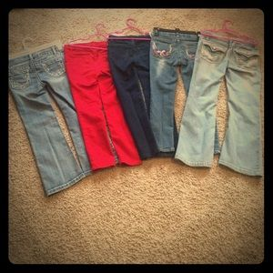 Other - 5 pairs of size 6 girls jeans bundle